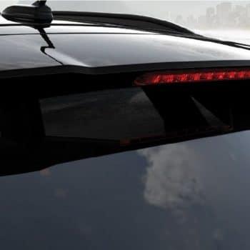 דגם יונדאי קונה שחורה חלק עליון אחורי