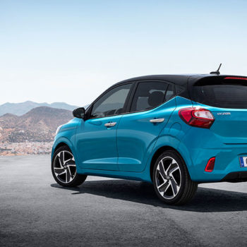 דגם יונדאי i10 חדשה כחול