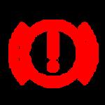 נורית חיווי תקלה brake אדומה בדגמי יונדאי בילוך שישי