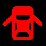 נורית חיווי תקלה doors open אדומה בדגמי יונדאי בילוך שישי